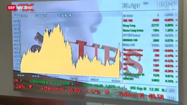Video «Boom an der Börse trotz Stagnation» abspielen