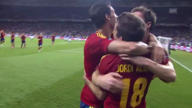 EM Final 2012: Spanien - Italien