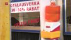 Video «Krise an der Zürcher Bahnhofstrasse» abspielen