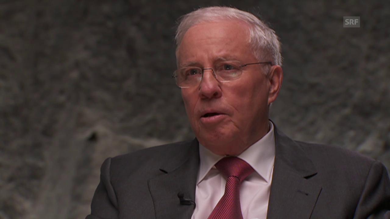 Christoph Blocher, alt Bundesrat