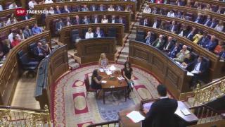 Video «Polit-Theater in Spanien» abspielen