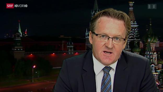 Video «SRF-Korrespondent Christof Franzen in Moskau» abspielen