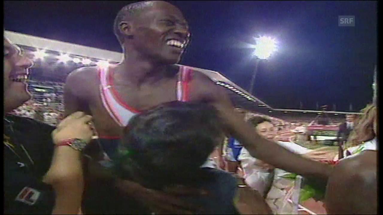 Weltklasse Zürich 1997: Kipketers Weltrekord über 3000m Steeple
