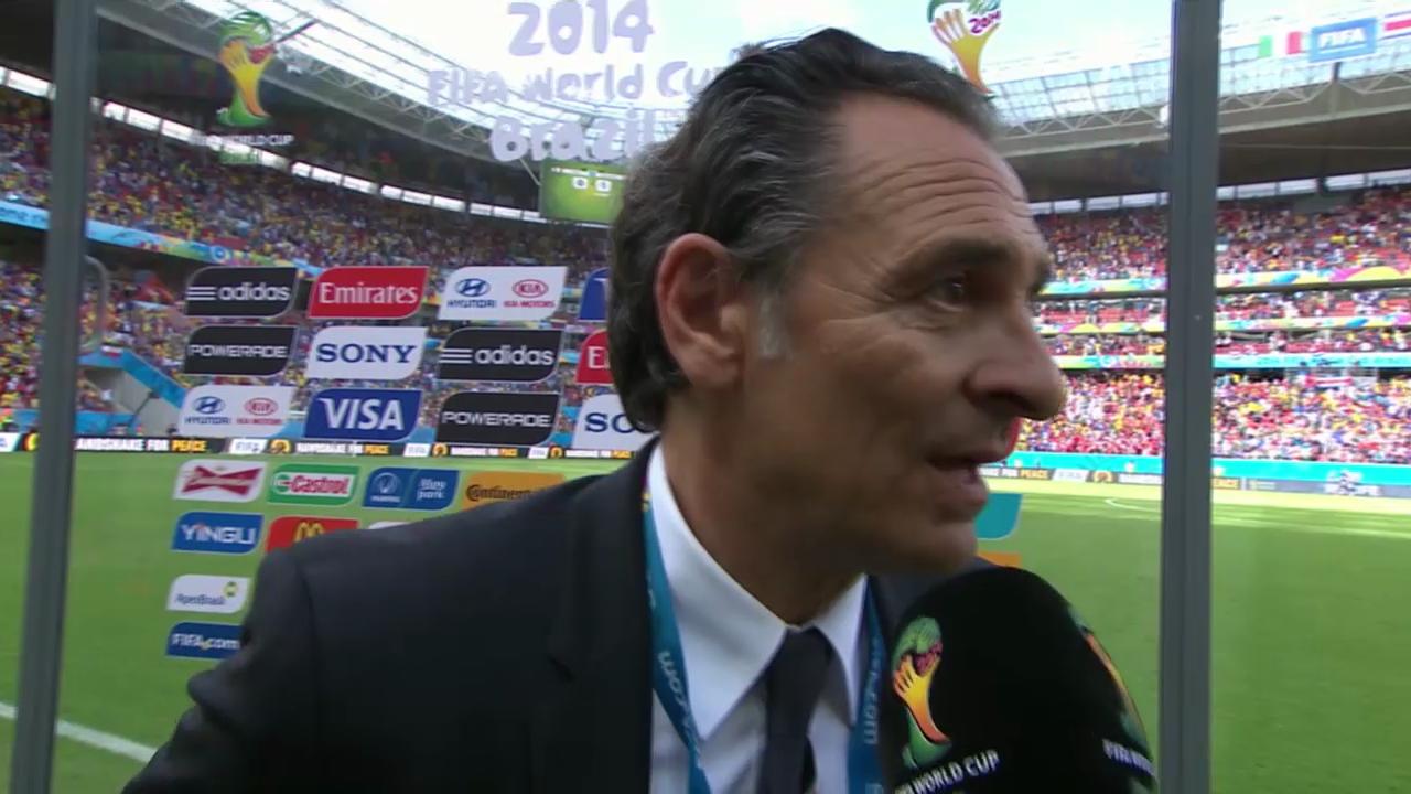 Fazit von Italien-Trainer Cesare Prandelli