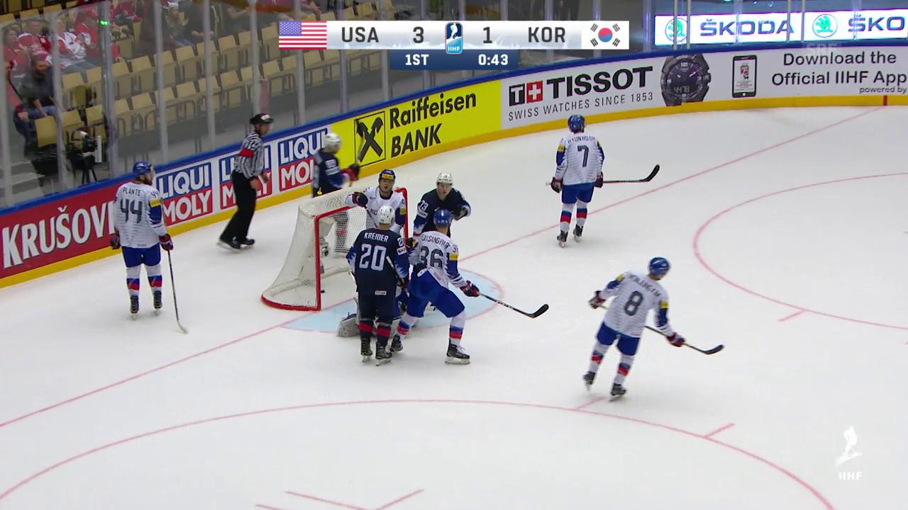 USA kantern Südkorea nieder