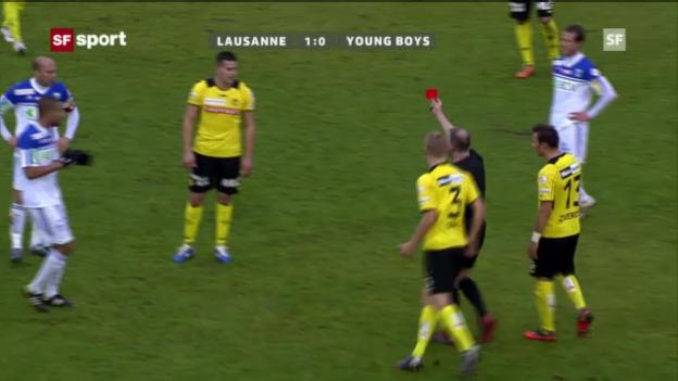 Video «Bobadillas Tätlichkeit gegen Lausanne («sportpanorama»)» abspielen