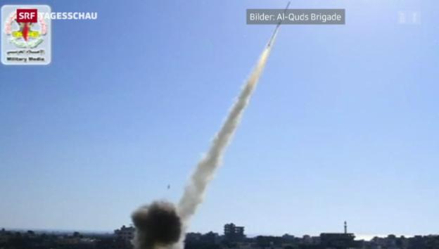 Video «Weiterhin Raketenbeschuss von beiden Seiten» abspielen