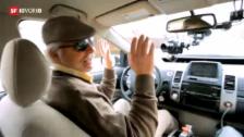 Video «Computergesteuerte Autos ohne Lenker» abspielen