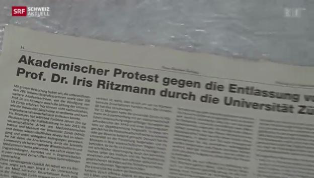 Video «Uni Zürich in der Dauerkritik» abspielen