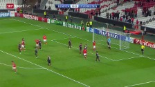 Video «Fussball: Zusammenfassung Benfica - Leverkusen» abspielen