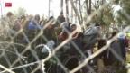 Video «Gestrandete Flüchtlinge in Mazedonien» abspielen