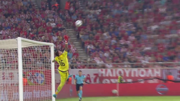 Video «Fussball: CL, Tor Thomas Müller Olympiakos - Bayern» abspielen