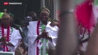 Video «Nigerianische Regierung gegen Terror von «Boko Haram»» abspielen