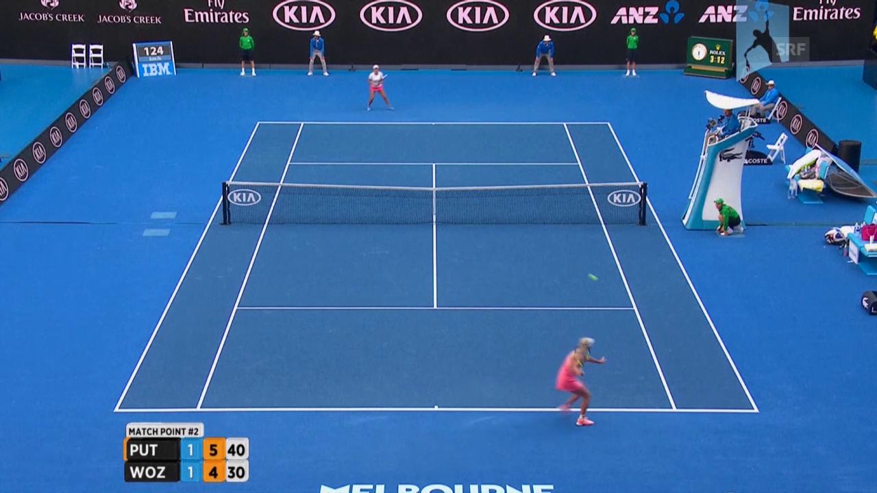 Australian Open: Das Out von Wozniacki