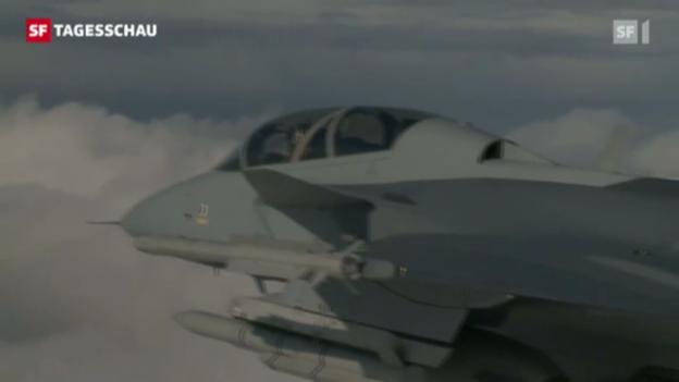 Video «Bundesrat verschiebt Gripen-Kauf um 2 Jahre» abspielen