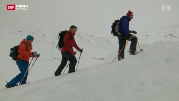 Video «Drei Spuren im Schnee – vom Chuenisbärgli ans Lauberhorn» abspielen