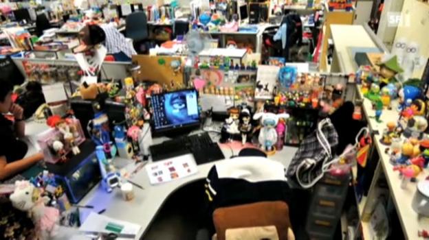 Video «Was der Schreibtisch über uns aussagt» abspielen