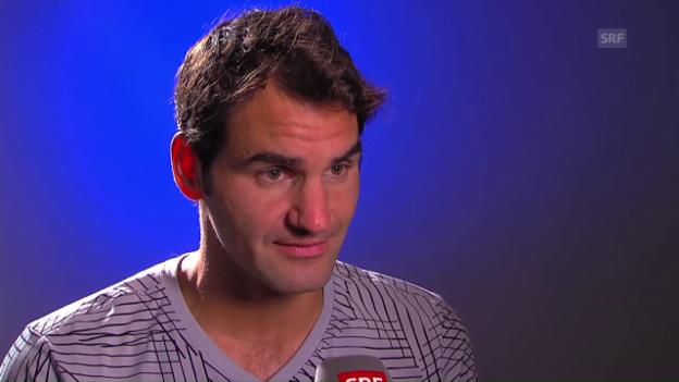Video «Federer: «Von der Grundlinie aus nie den Rhythmus gefunden»» abspielen