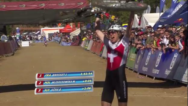 Video «Die Schlussphase des Rennens (englischer Kommentar)» abspielen