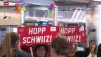 Video «Schweizer Fussball-Frauen zurück in der Schweiz» abspielen