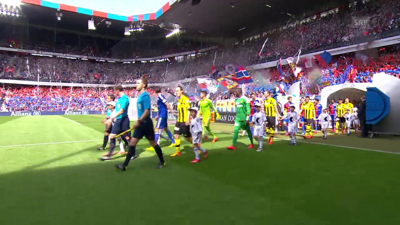 Fussball: Super League, Basel - YB, Live-Highlights