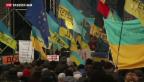Video «EU legt Verhandlungen mit Ukraine auf Eis – Protest geht weiter» abspielen