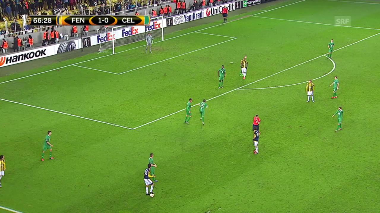 Fussball: Europa League, Fenerbahce-Celtic