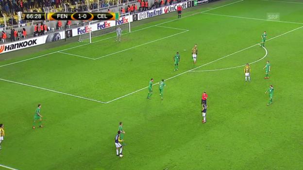 Video «Fussball: Europa League, Fenerbahce-Celtic» abspielen
