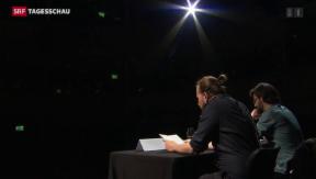 Video «Literaturtage in Solothurn zeigen Newcomer-Werke » abspielen