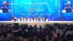 Video «Die Schweiz am Treffen des Internationalen Währungsfonds» abspielen