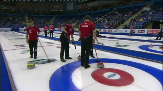 Curling: Schweiz - China