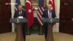 Video «Antrittsbesuch von Erdogan bei Trump» abspielen