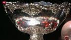 Video «Die Schweiz führt im Davis-Cup-Final gegen Frankreich» abspielen