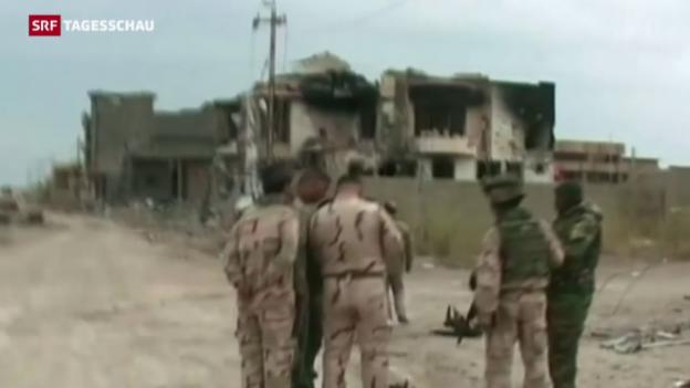 Video «Irakische Soldaten in Ramadi» abspielen