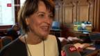 Video «Emotionaler Abschied von Doris Leuthard» abspielen