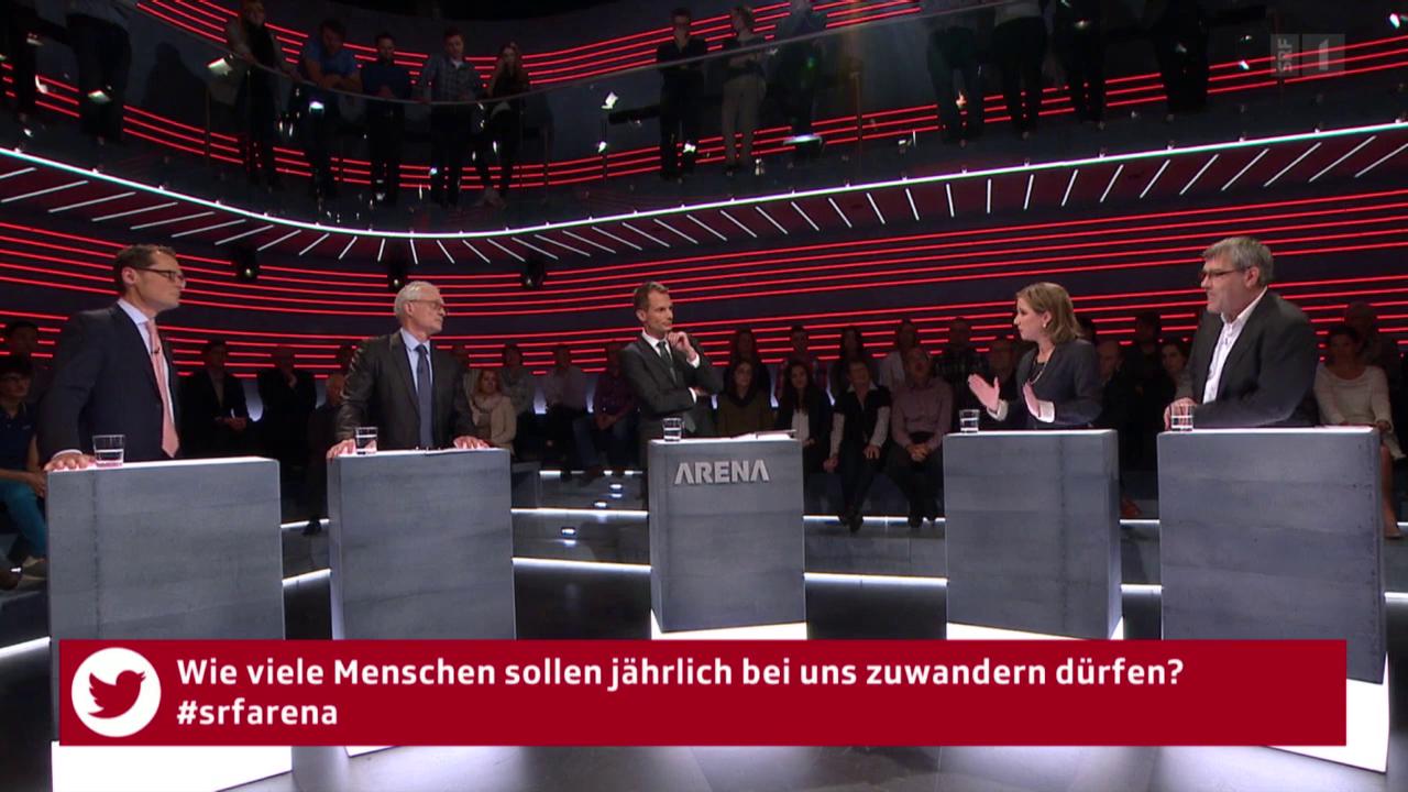 «Arena»: Schweiz/EU - Wie weiter nach den Wahlen?