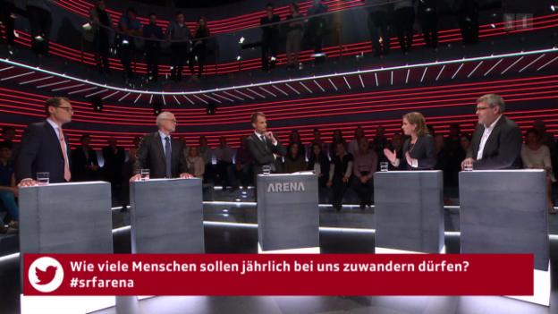 Video ««Arena»: Schweiz/EU - Wie weiter nach den Wahlen?» abspielen