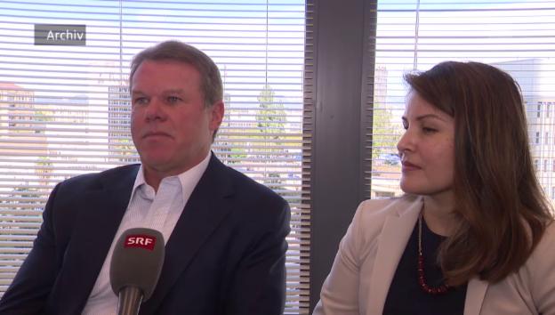 Video «Brian Cullinan und Martha Ruiz im Interview» abspielen