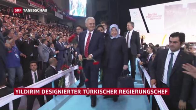Video «Yildirim neuer AKP-Chef» abspielen