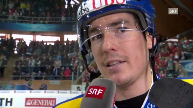 Eishockey: Interview Dario Bürgler