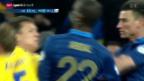 Video «Fussball: Rückblick auf die Barrage-Spiele» abspielen