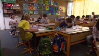 Video «Kontroverse um Lehrplan 21 im Baselbiet» abspielen