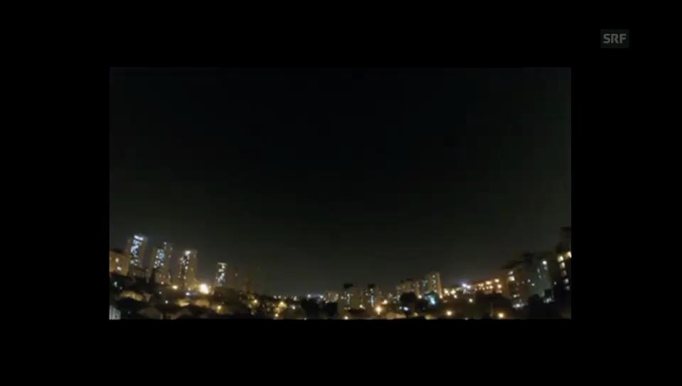 Alarmsirenen in Tel Aviv