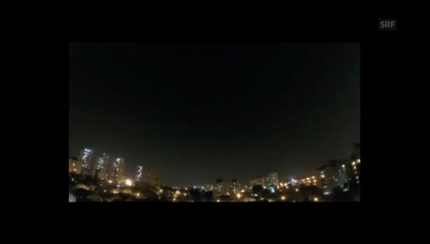 Video «Alarmsirenen in Tel Aviv» abspielen