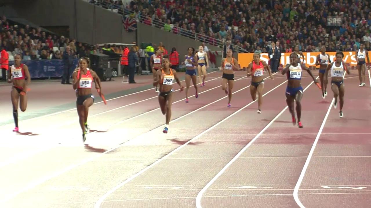 4x100-m-Staffel der Frauen