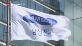 Video «Samsung steckt in Korruptionsaffäre» abspielen