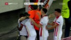 Video «Olympiakos jubelt spät» abspielen
