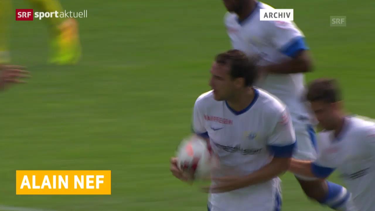 Fussball: Alain Nef fällt mehrere Monate aus («sportaktuell»)