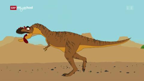 Ralph und die Dinosaurier: Albertosaurus (1/26)