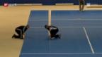 Video «Wie das Hallenstadion zur Tennisarena wird» abspielen